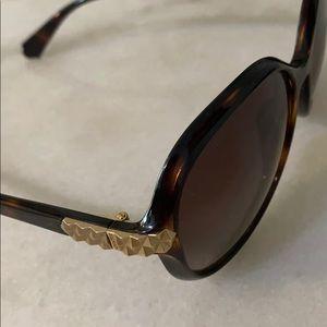 Balmain Accessories - Balmain tortoise sunglasses with gold accents